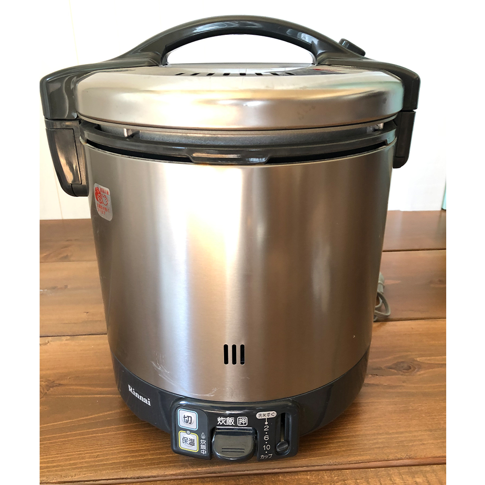 リンナイ ガス炊飯器 (RR-100VK-A)